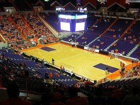 Virginia Tech Hokies at Clemson Tigers Basketball