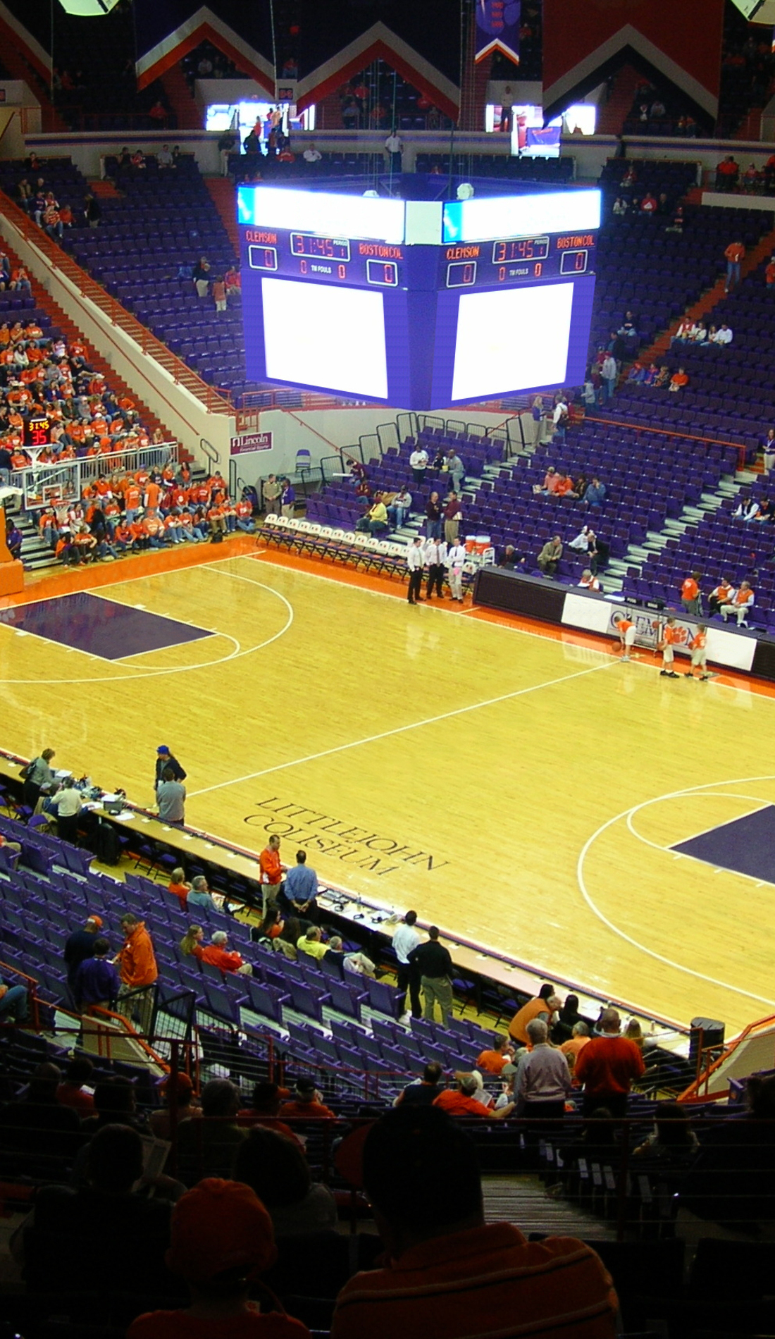 A Clemson Tigers Basketball live event