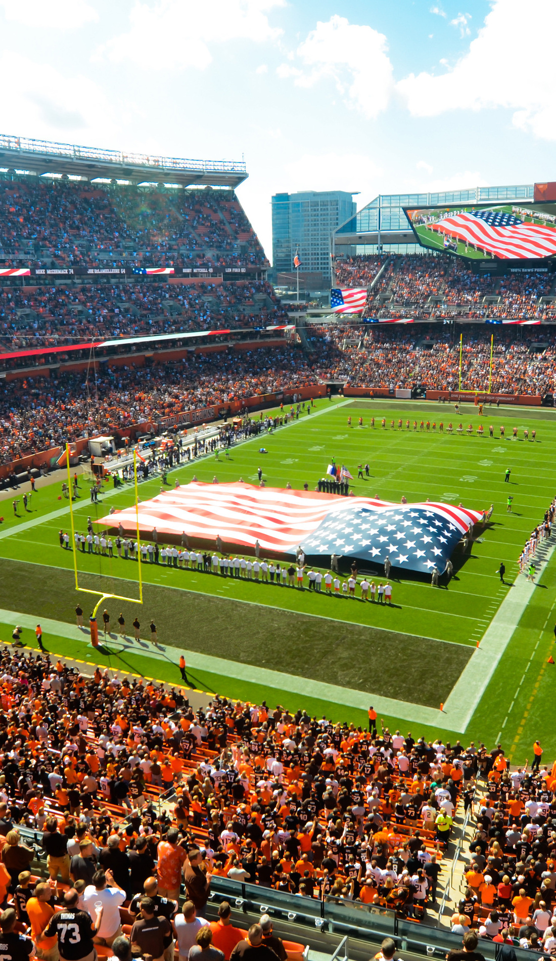 A Cleveland Browns live event