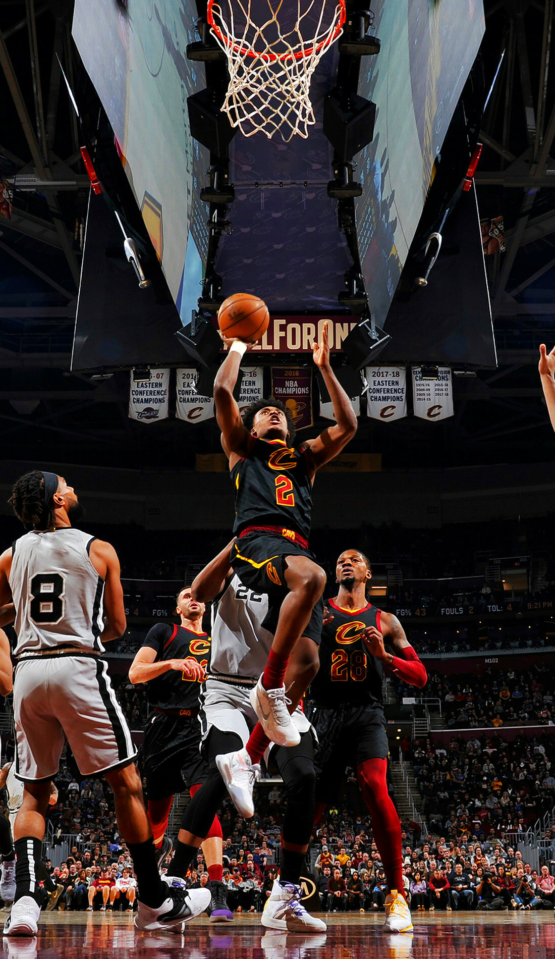 A Cleveland Cavaliers live event