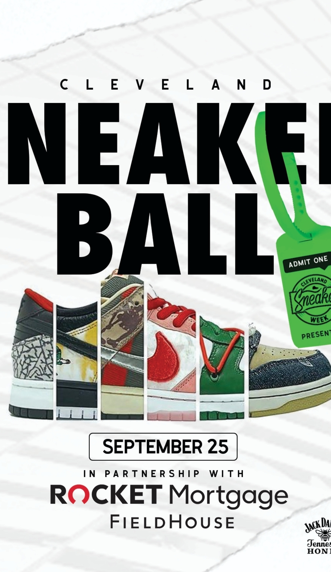 A Cleveland SneakerBall live event