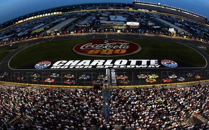 Charlotte motor speedway 3d seating chart for Charlotte motor speedway tours