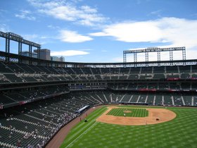 NLDS: Colorado Rockies vs TBD - Home Game 1 (Date TBA)