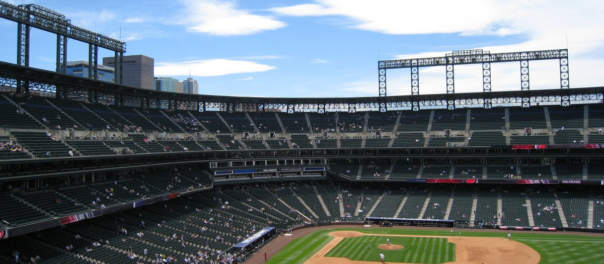 Coors Field Seating Chart Map Seatgeek