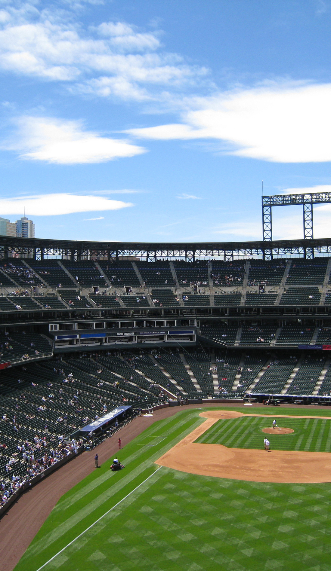 A Colorado Rockies live event