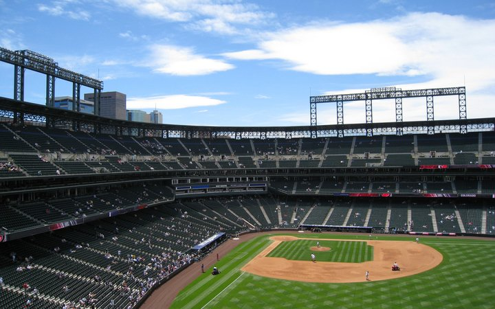 Coors Field Seating Chart & Map | SeatGeek