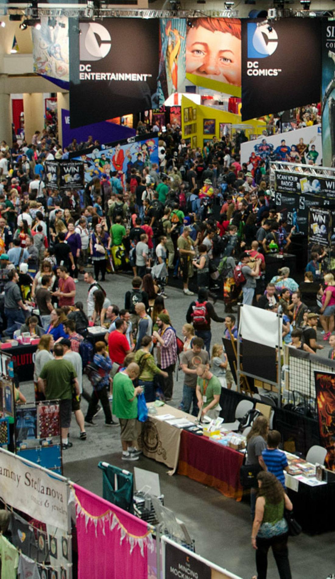 A Comic Con live event