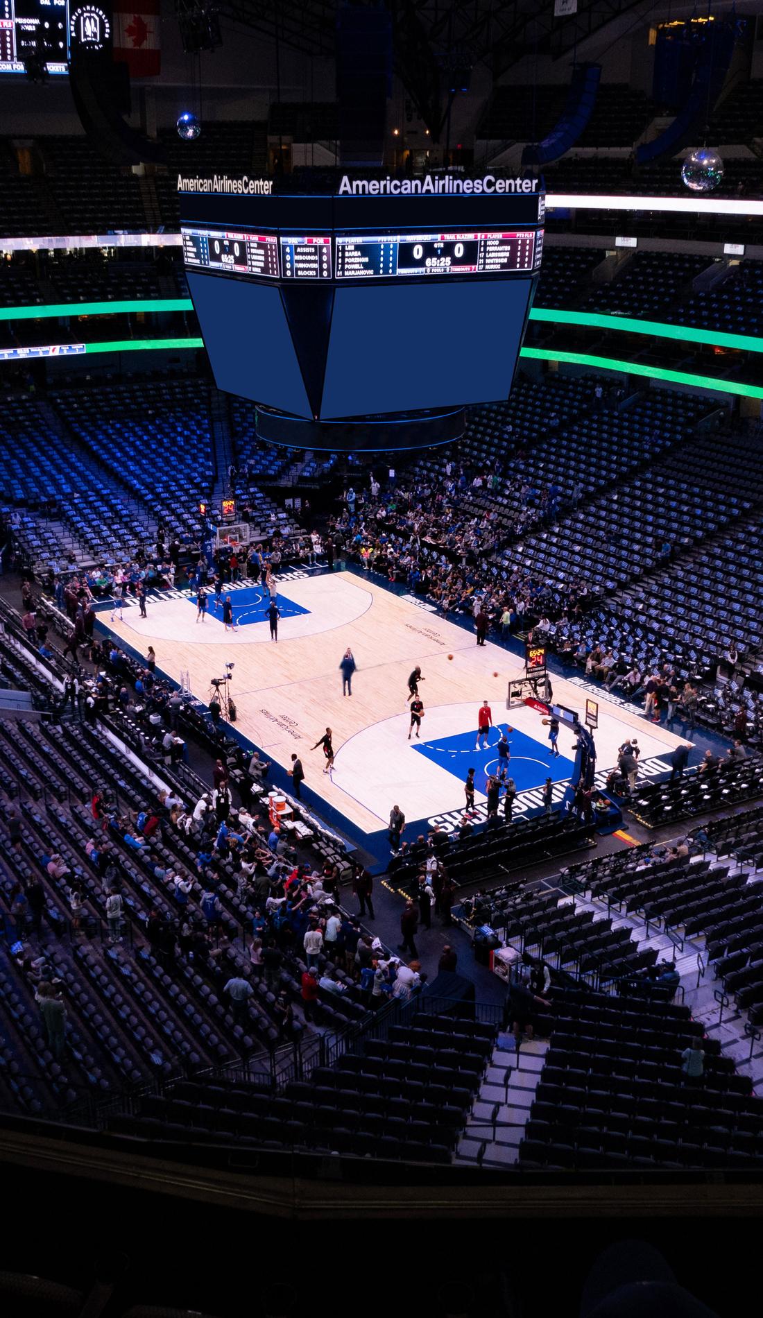 A Dallas Mavericks live event