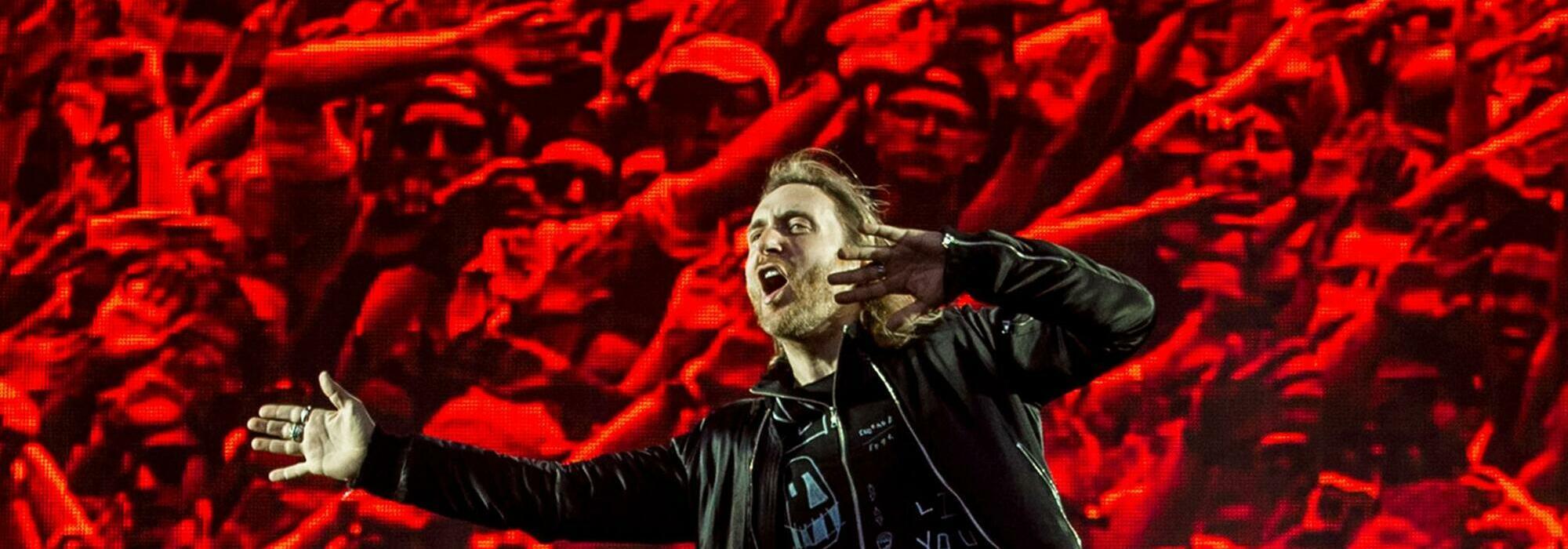 A David Guetta live event