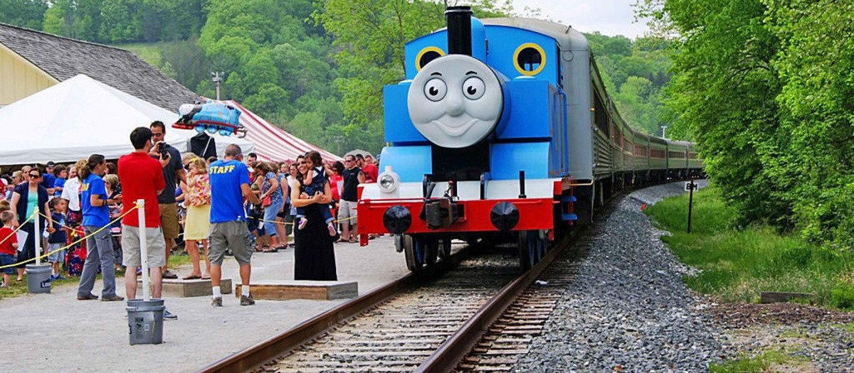 Day Out with Thomas - Ronks