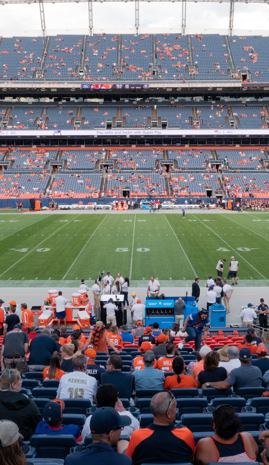 A Denver Broncos live event