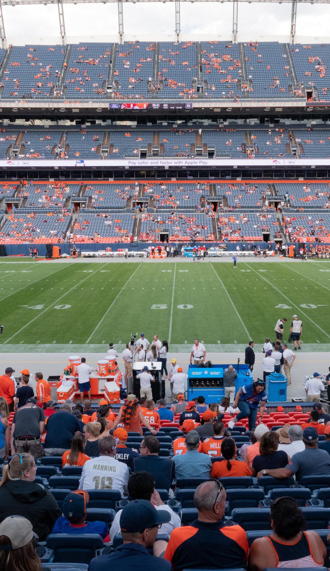 A Denver Broncos live event