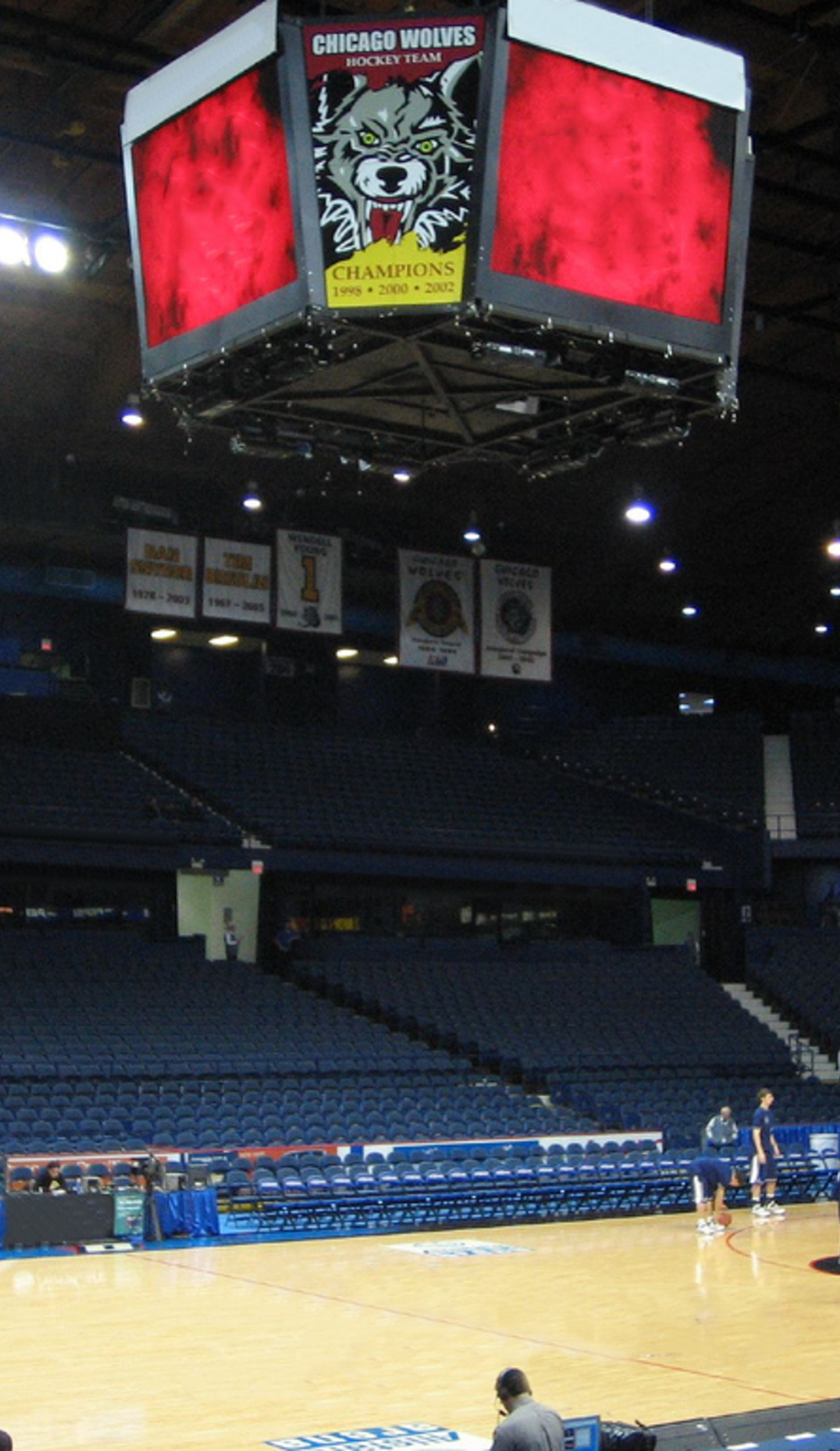 A DePaul Blue Demons Basketball live event