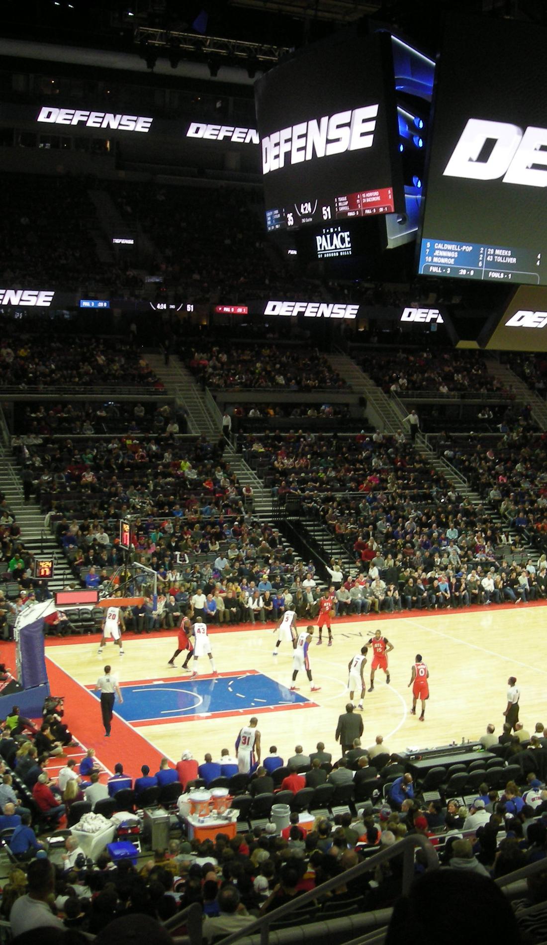A Detroit Pistons live event