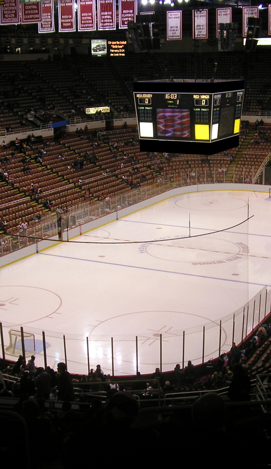 A Detroit Red Wings live event