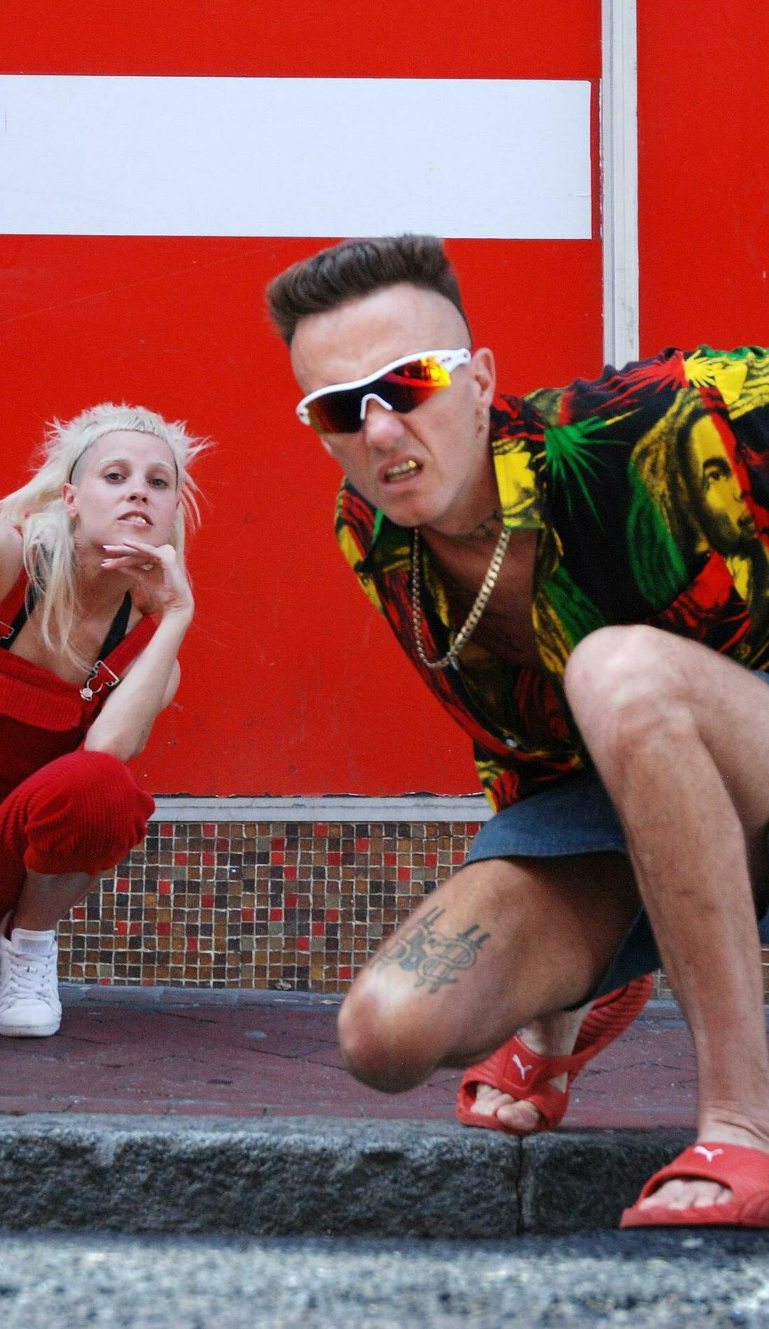 A Die Antwoord live event