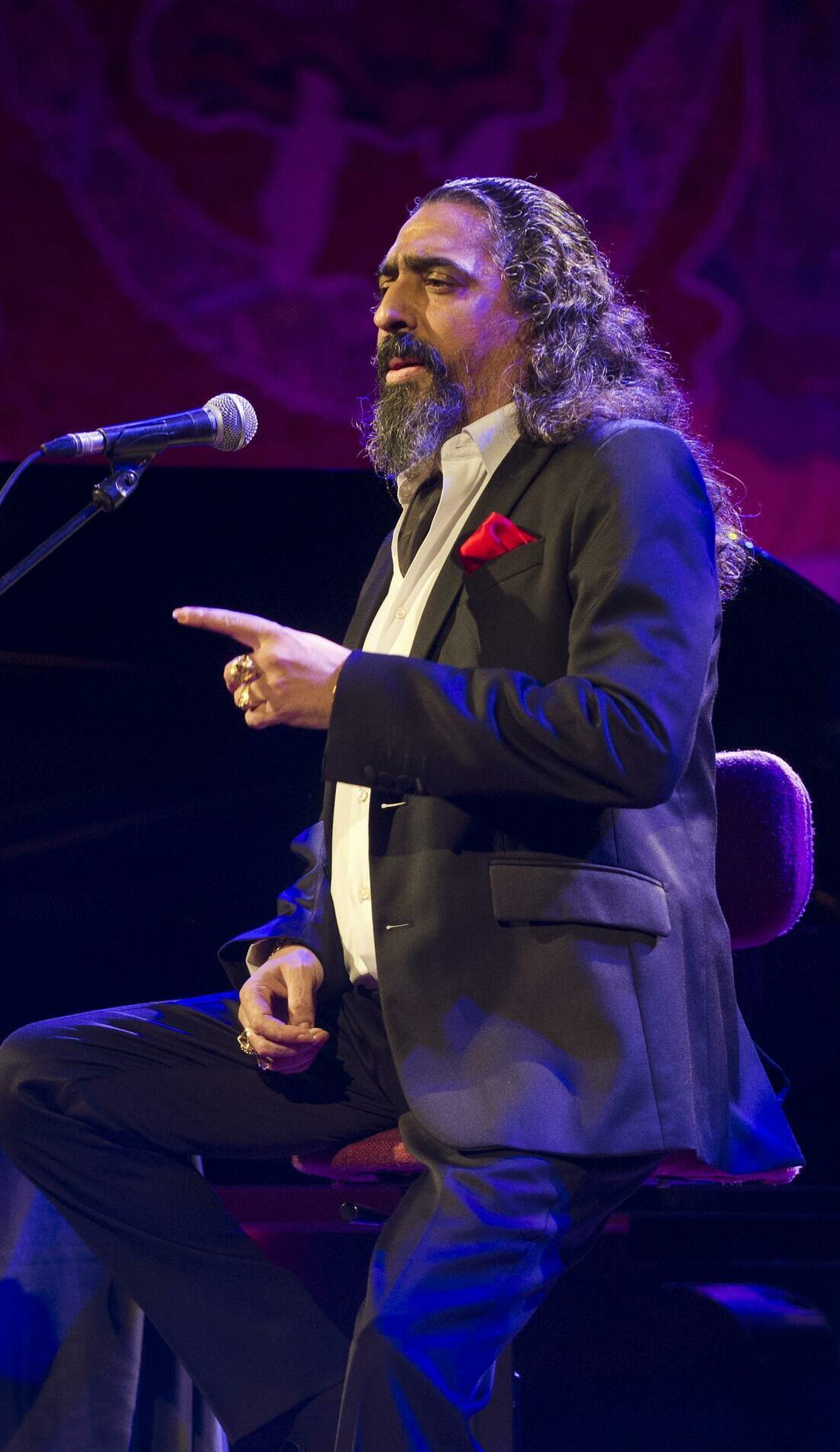 A Diego El Cigala live event