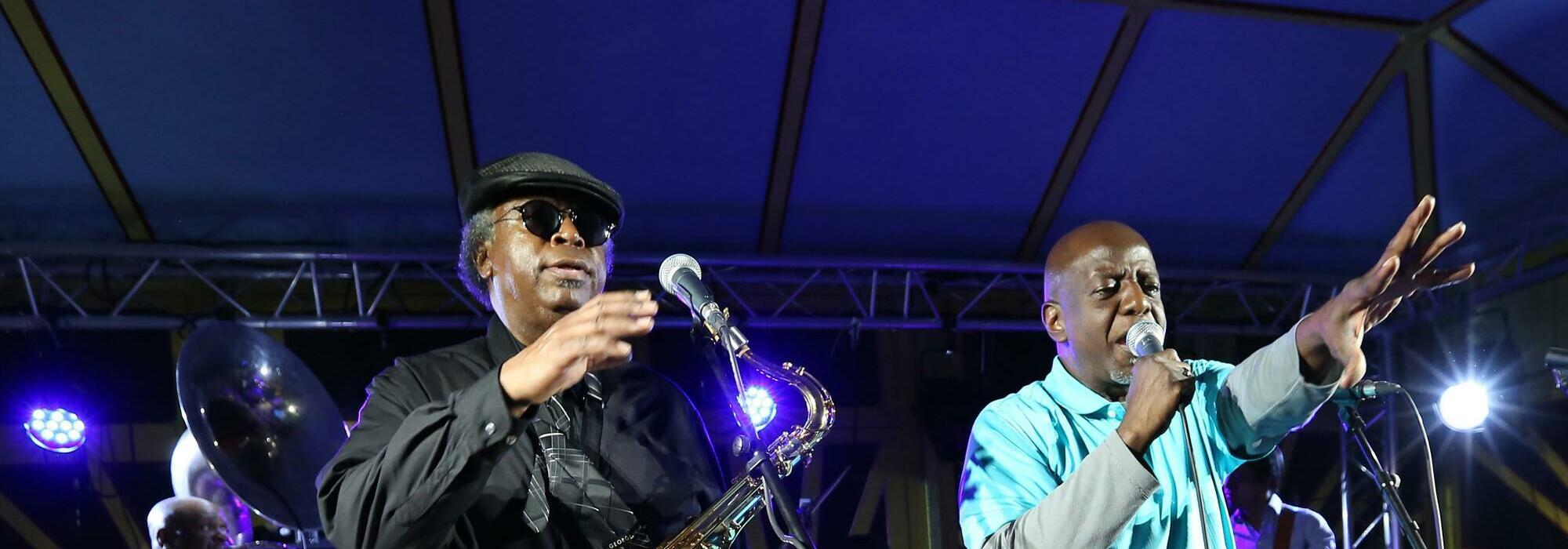 A Dirty Dozen Brass Band live event