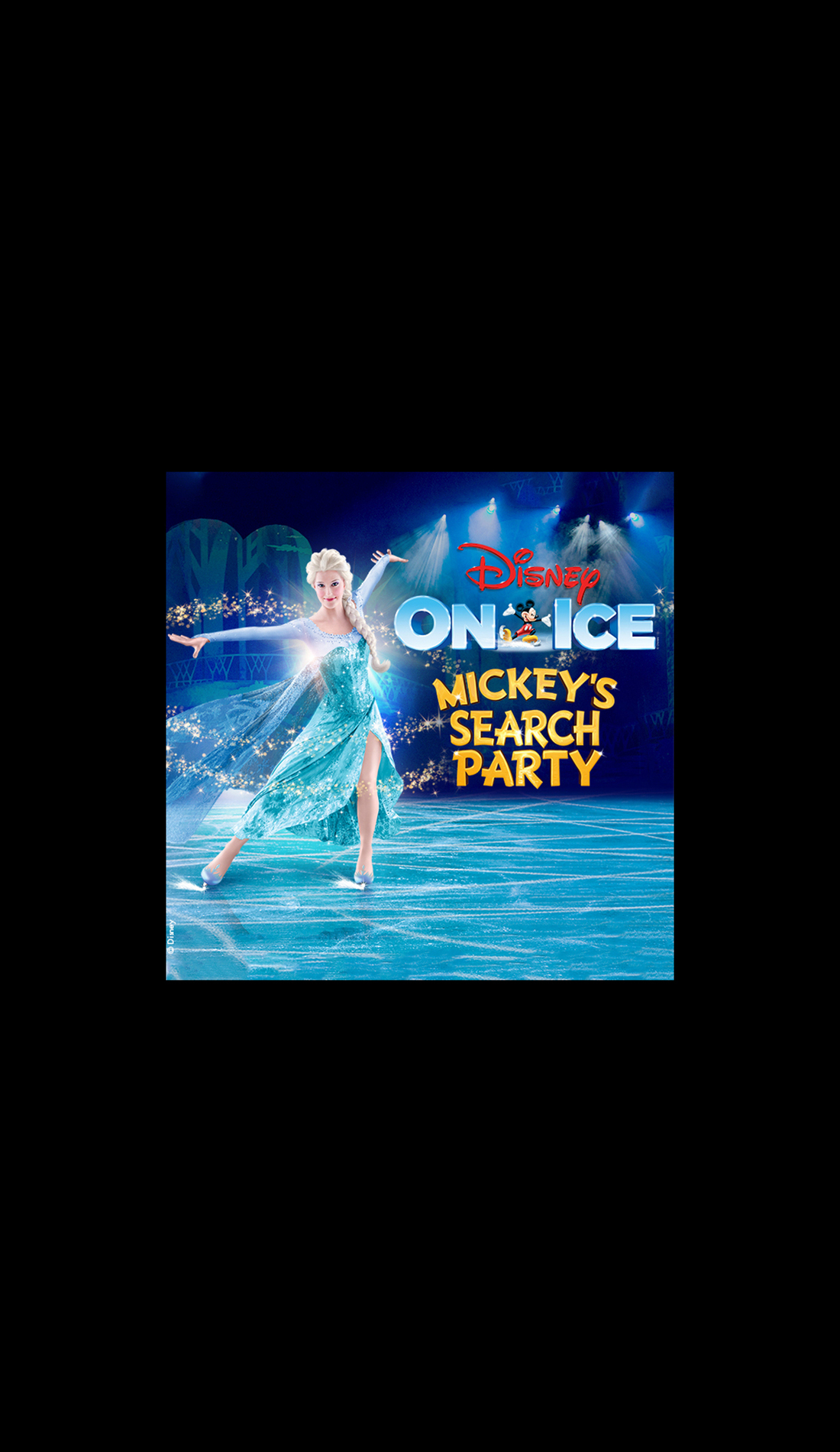 A Disney On Ice: Mickey's Search Party live event
