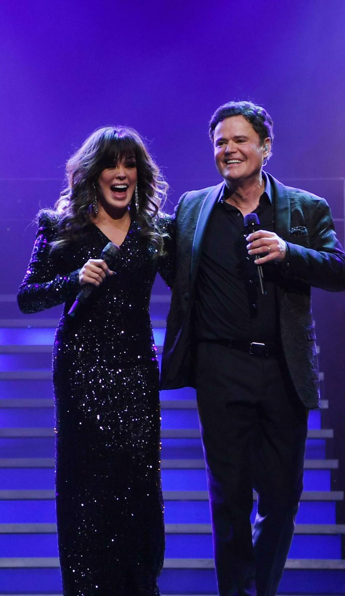A Donny & Marie live event