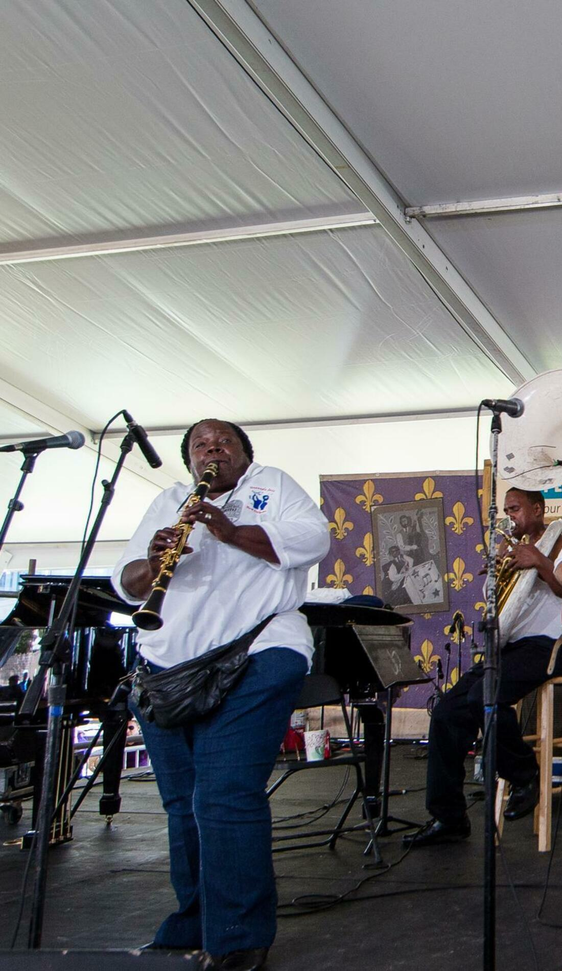 A Doreen's Jazz New Orleans live event
