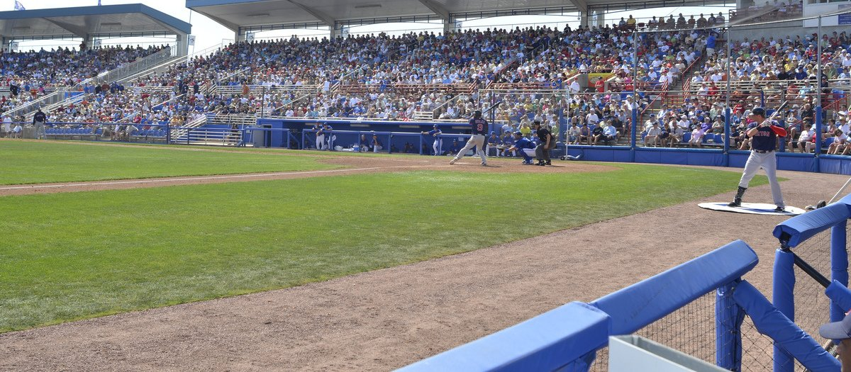 Clearwater Threshers at Dunedin Blue Jays