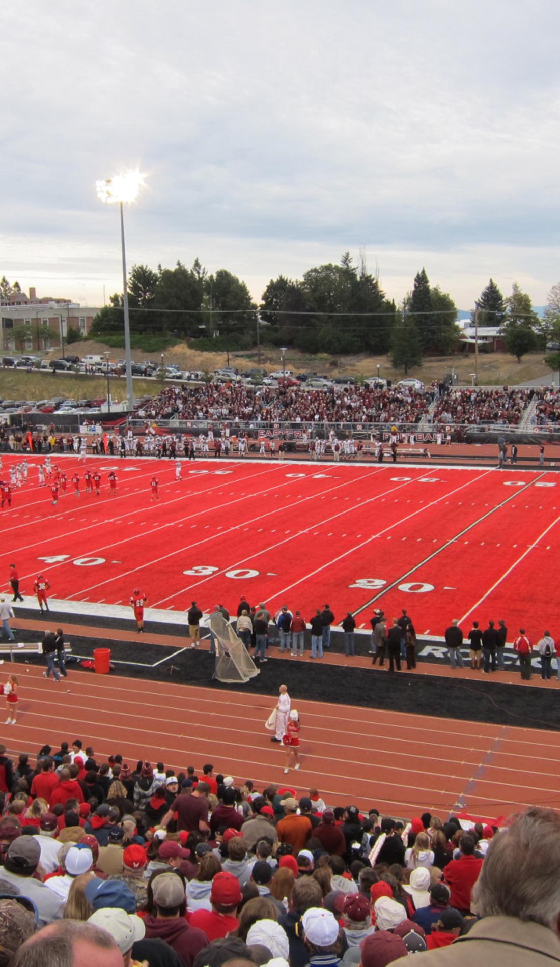 A Eastern Washington Eagles Football live event