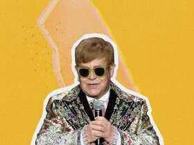Elton John with His Band