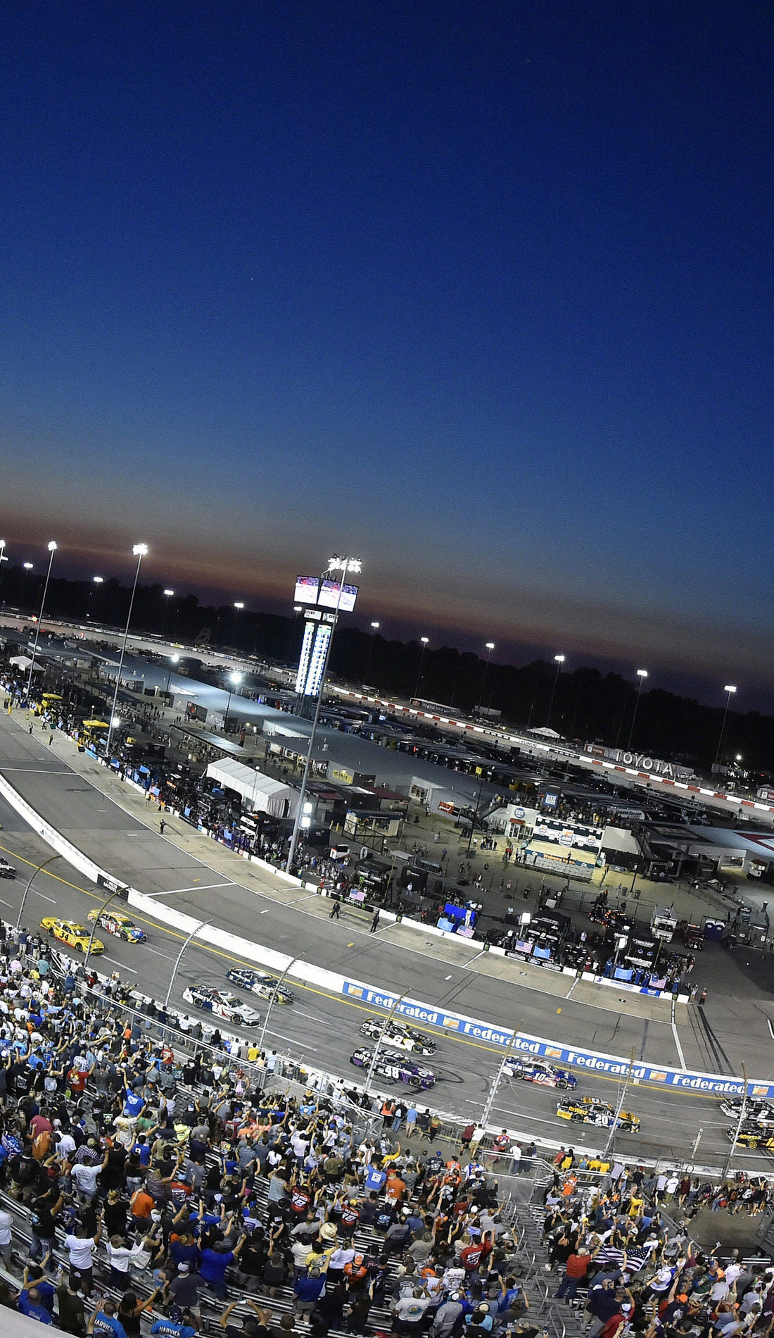 A Federated Auto Parts 400 live event
