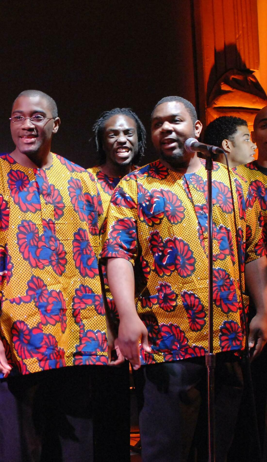 A Fisk Jubilee Singers live event