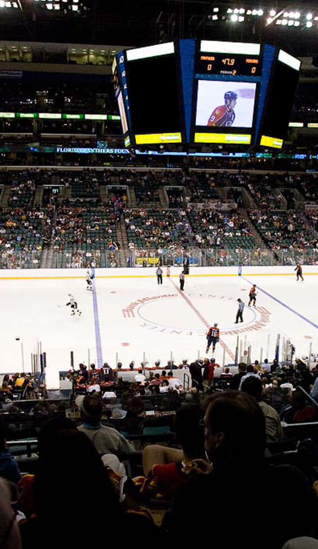 A Florida Panthers live event
