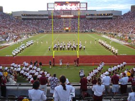 Florida State Seminoles at North Carolina State Wolfpack Football