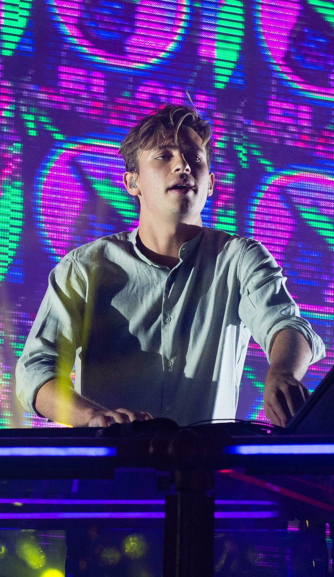 A Flume live event