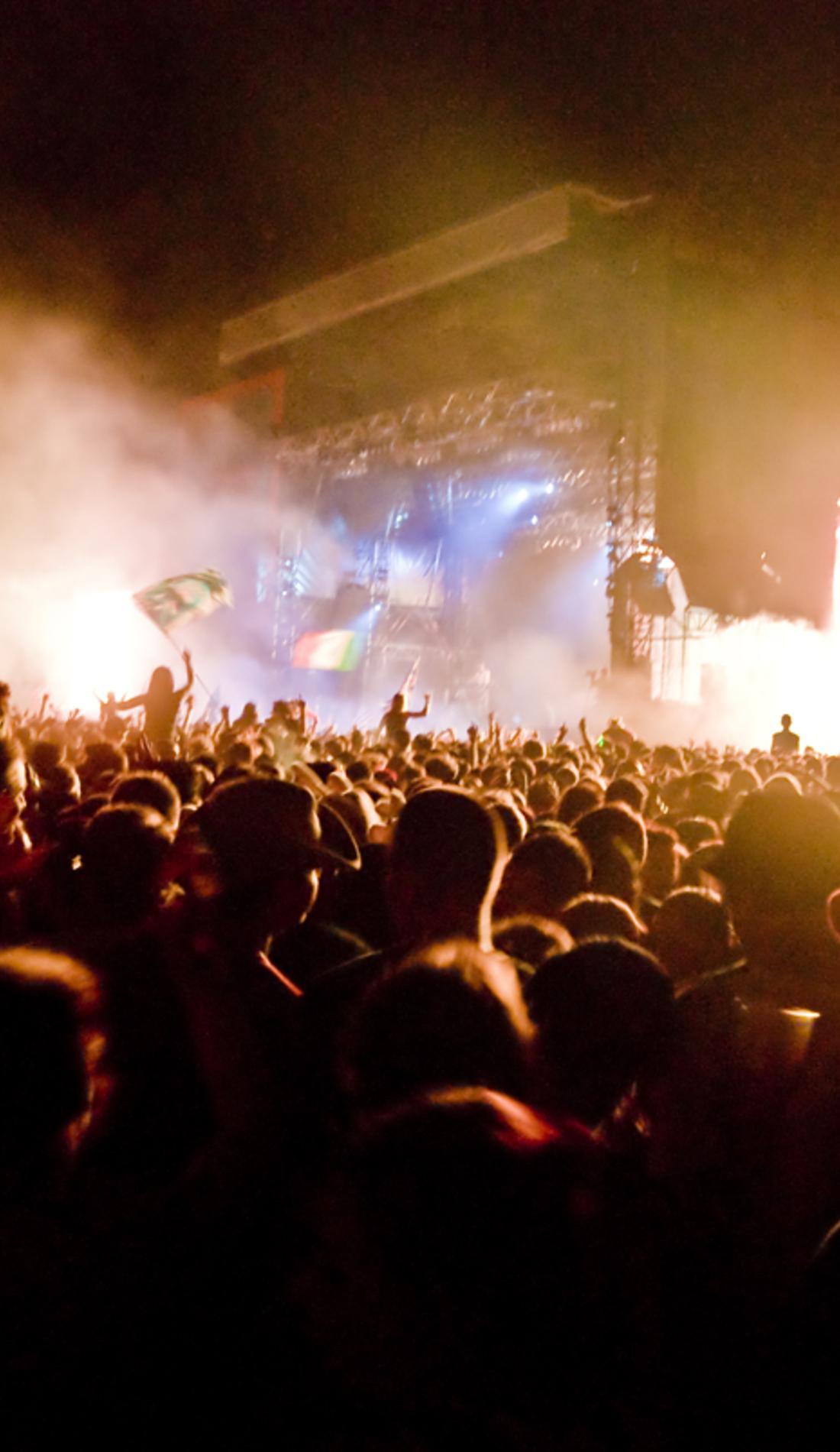 A Gasparilla Music Festival live event