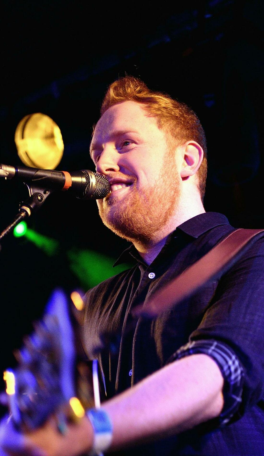 A Gavin James live event