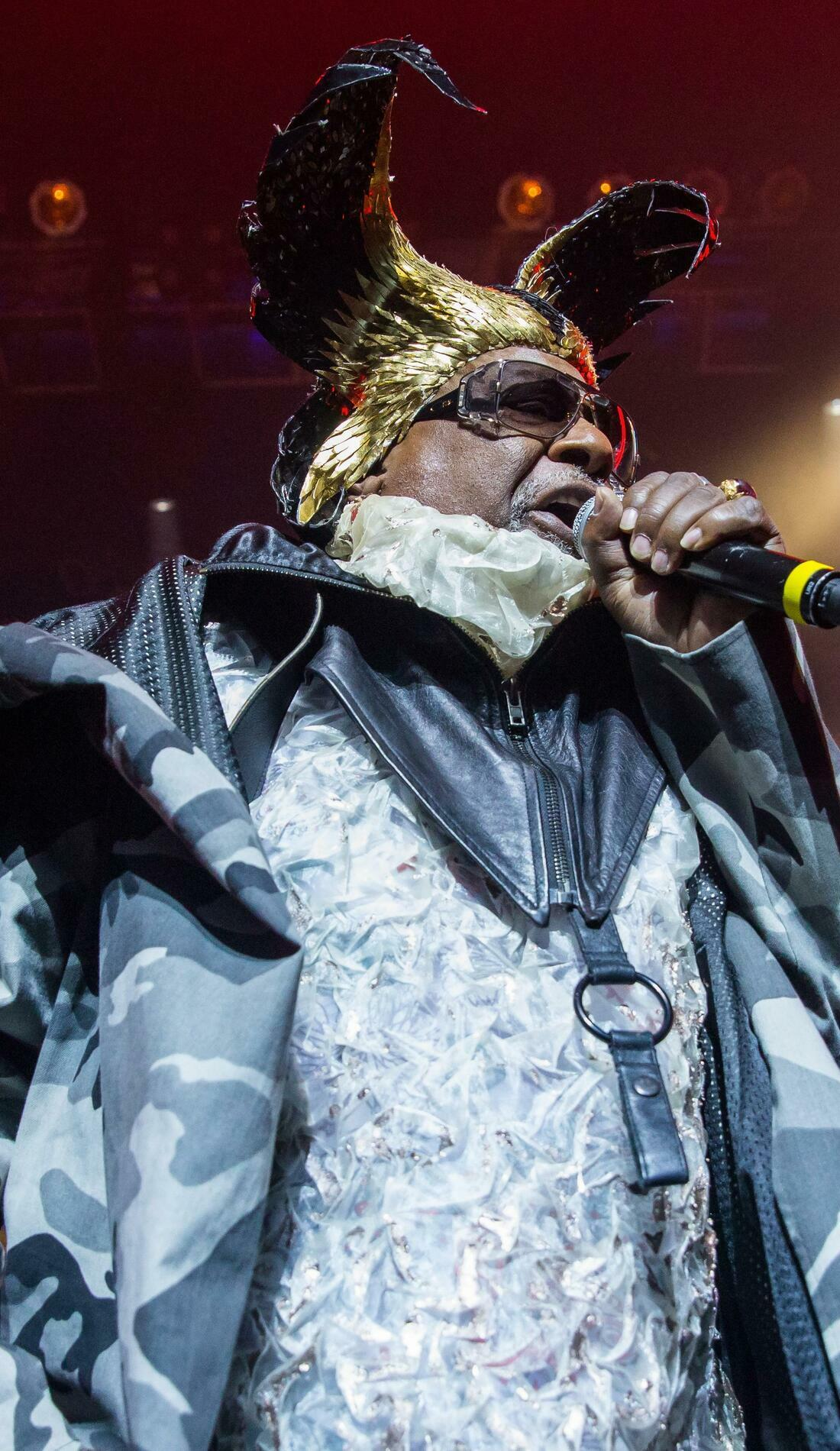 A George Clinton live event