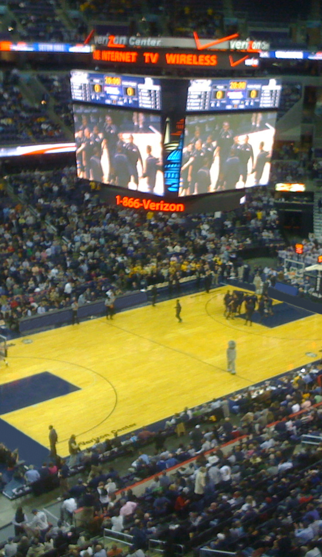 A Georgetown Hoyas Basketball live event