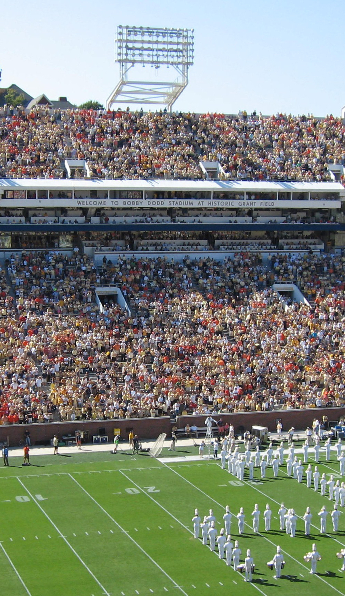 A Georgia Tech Yellow Jackets Football live event