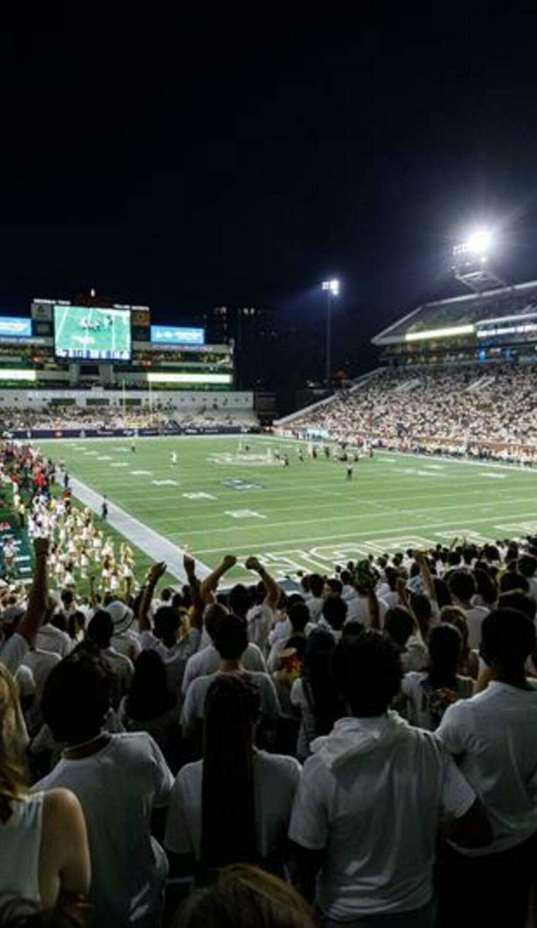 A Georgia Tech Yellow Jackets Football live event