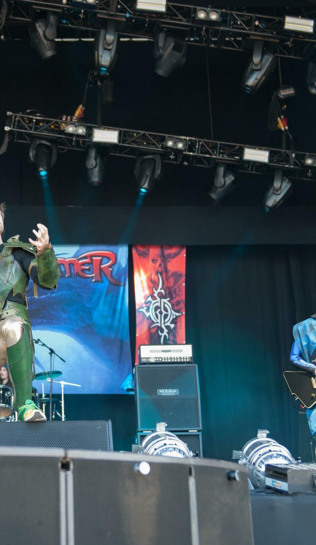 A Gloryhammer live event