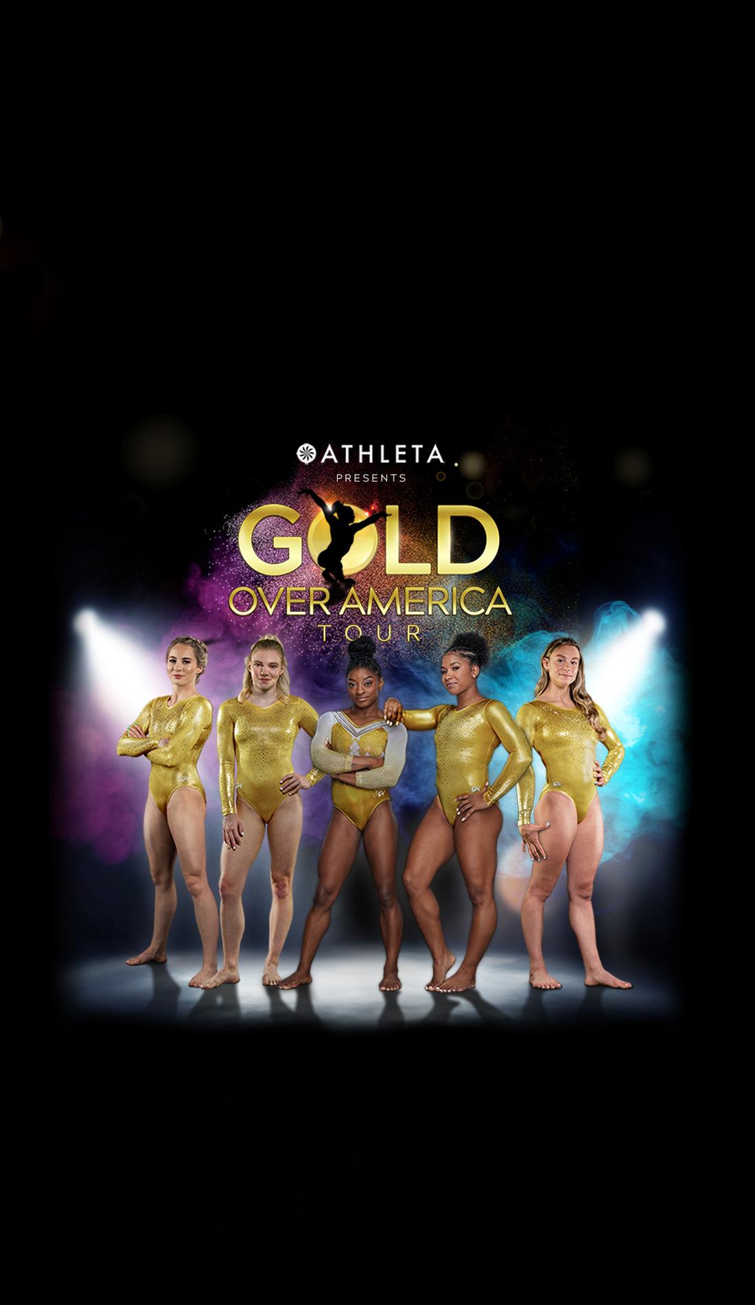 A Gold Over America Tour live event