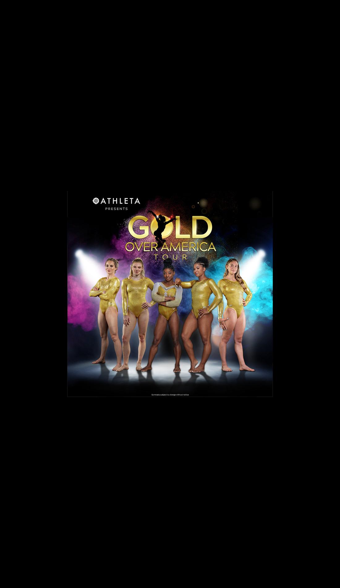 A Gold Over America Tour Starring Simone Biles live event