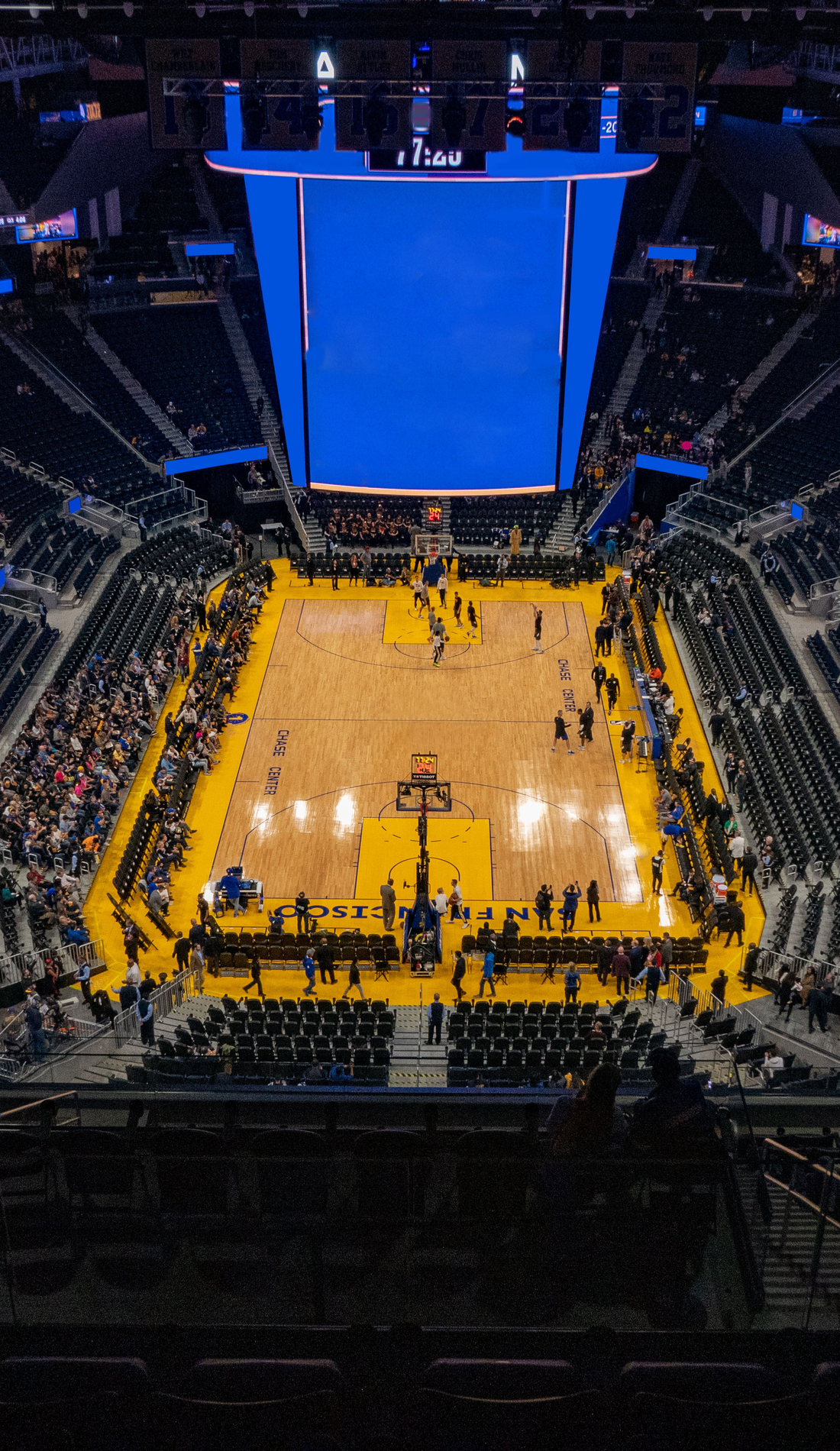 A Golden State Warriors live event