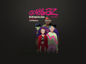 Gorillaz with Danny Brown and Vince Staples