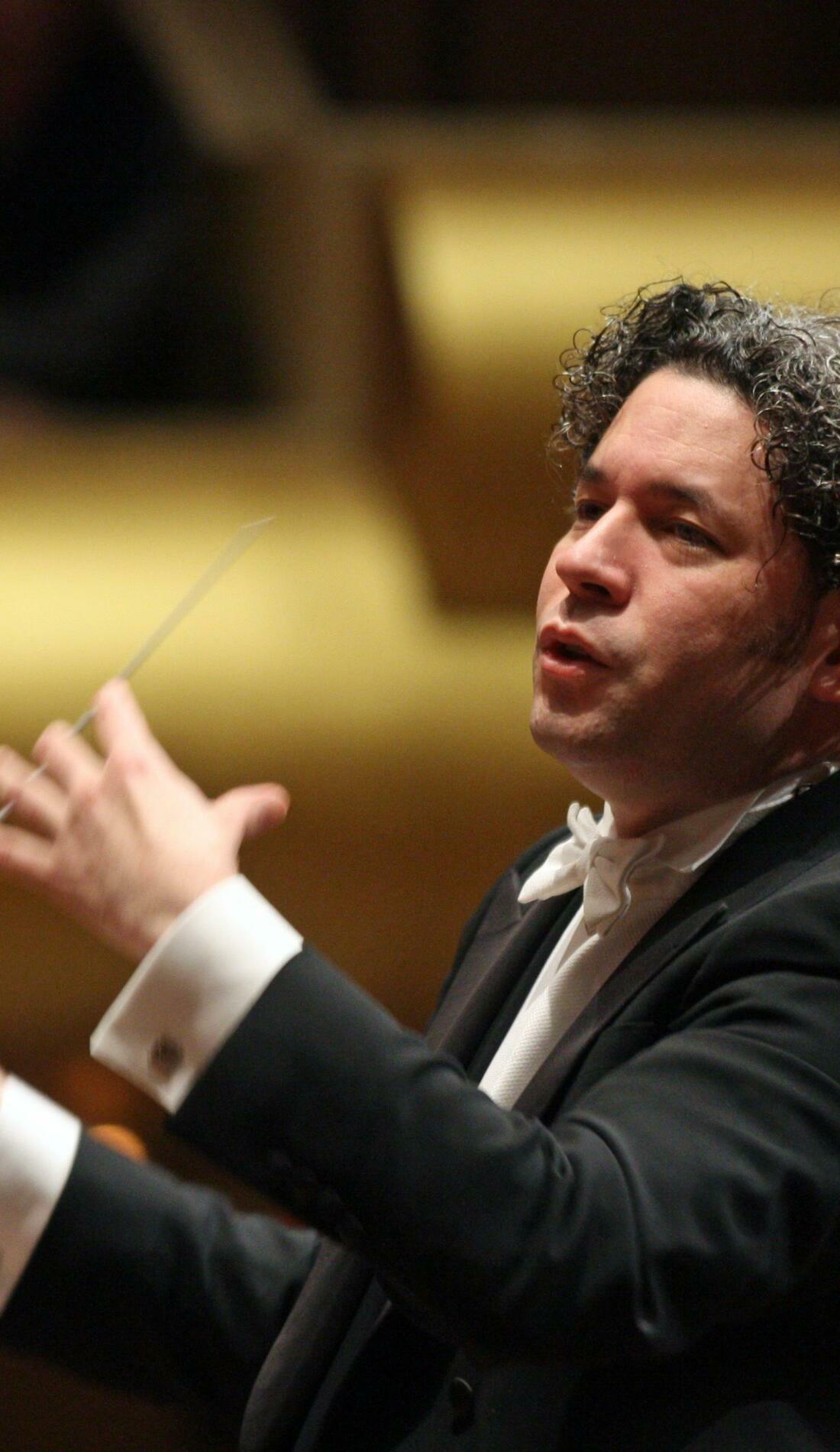 A Gustavo Dudamel live event
