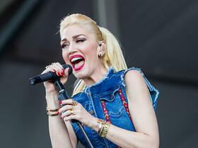 Gwen Stefani with Eve