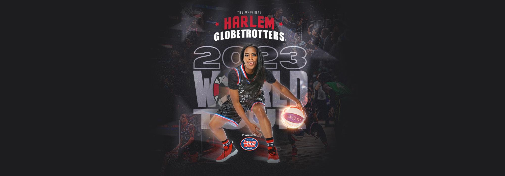 A Harlem Globetrotters live event