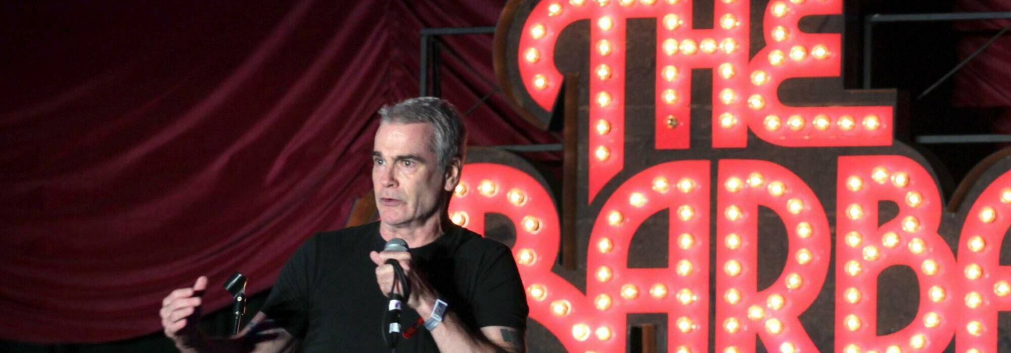A Henry Rollins live event