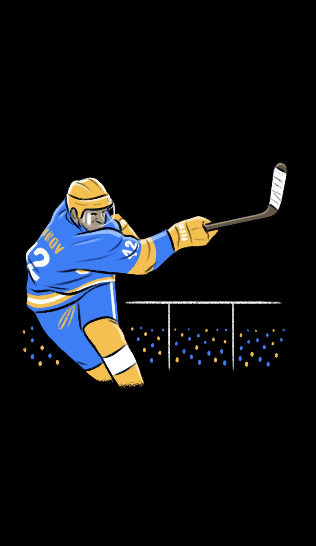 A Hockey East Tournament live event