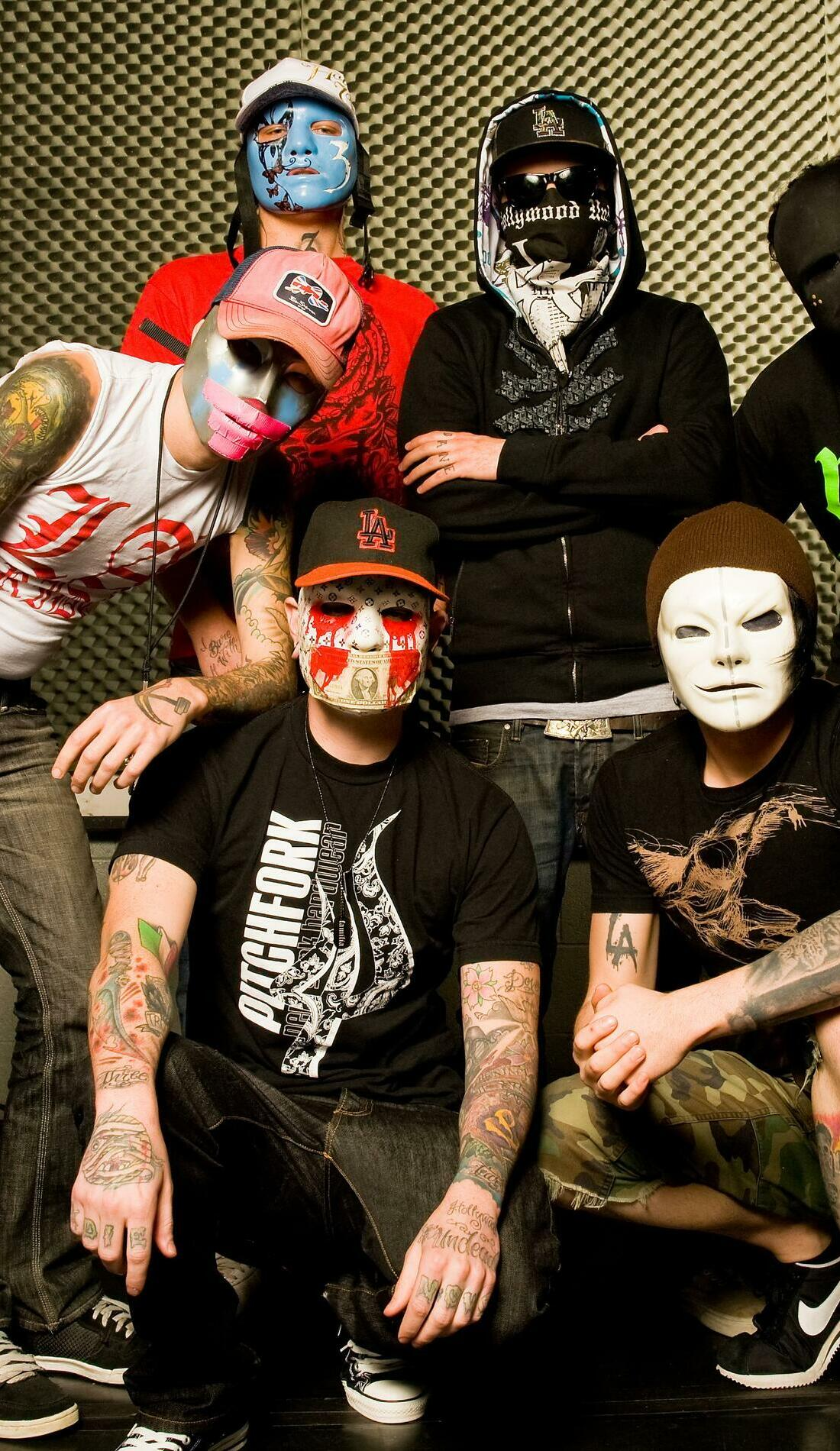 A Hollywood Undead live event